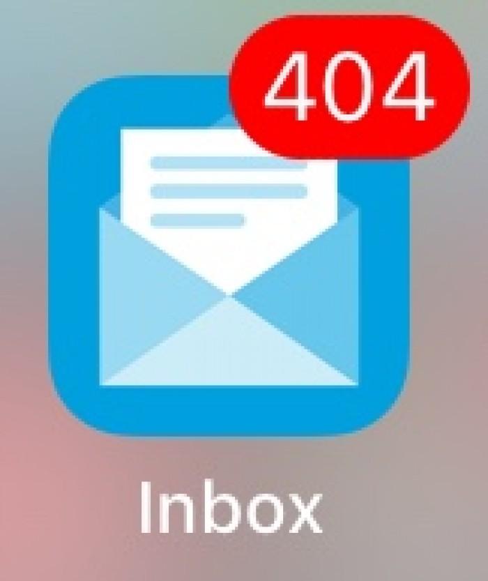 Mail not found