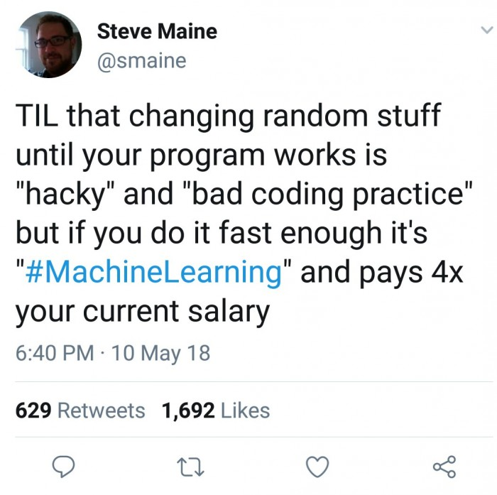 "changing random stuff until your program works is ""hacky"" and ""bad coding practice"""