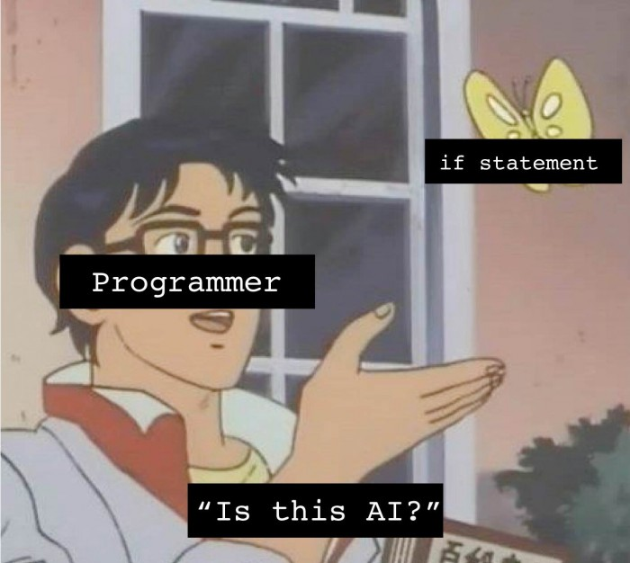 Yep, it is AI!