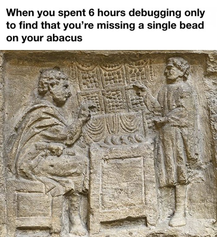 Debugging in 2700 BC
