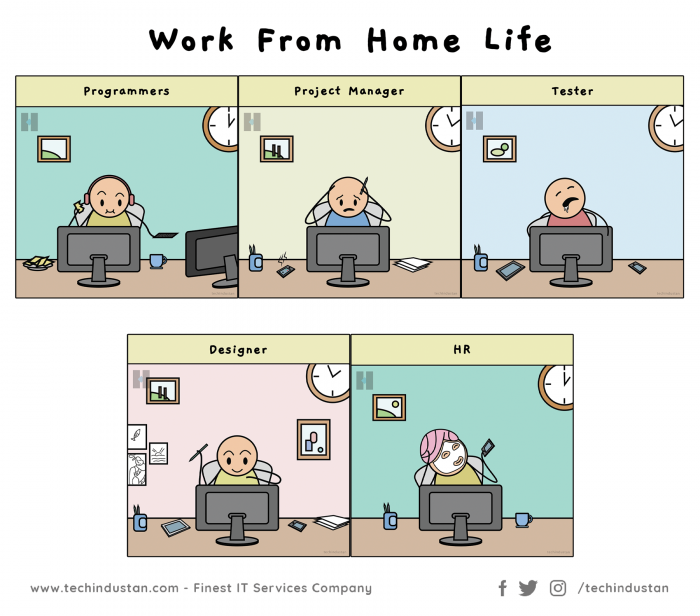 Work from Home Life is Not Same for Everyone