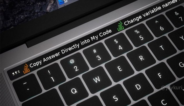 The Apple Touch Bar will spawn a new generation of 10x engineers