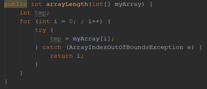 How to find out the length of an array in Java