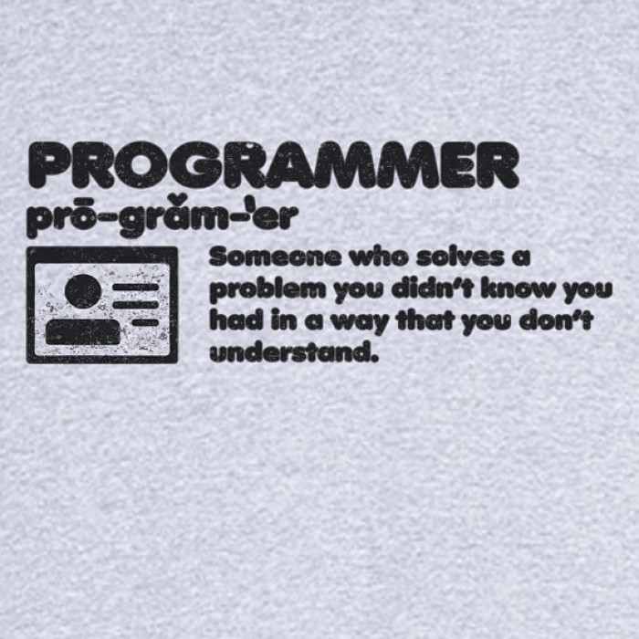 The Definition of a Programmer