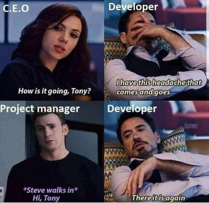 The pain of each programmer
