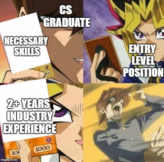 Entry level job