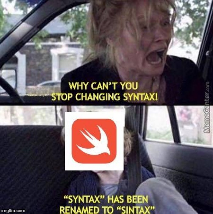 New swift syntax