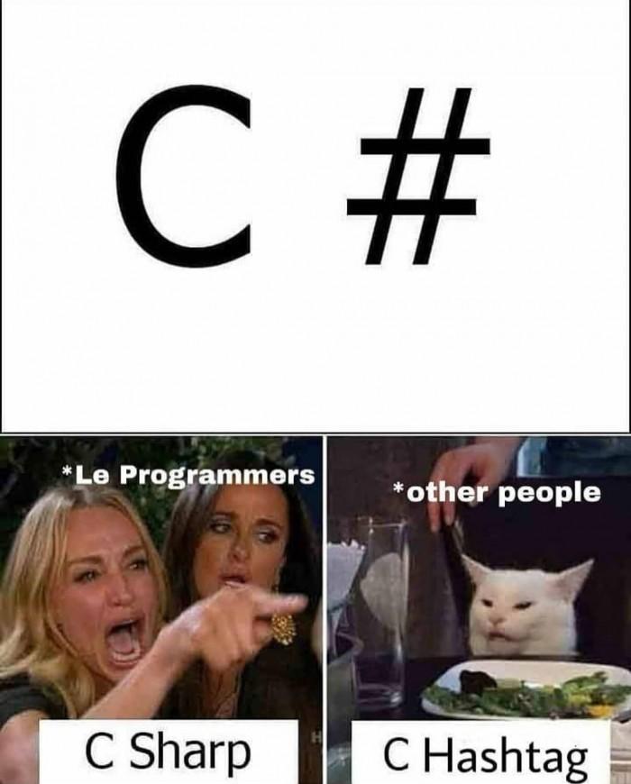 C Hashtag