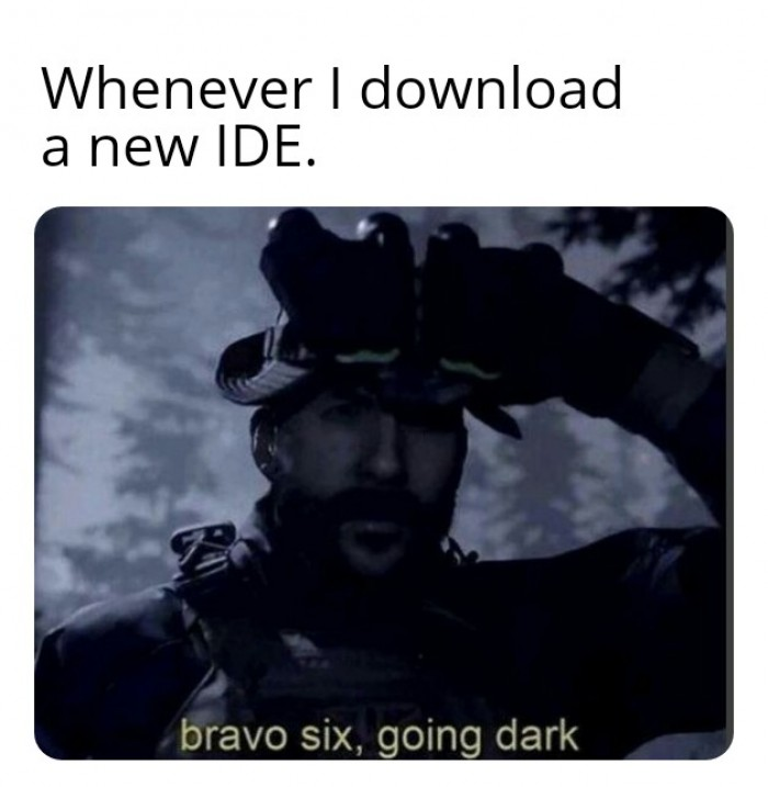Whenever I download a new IDE