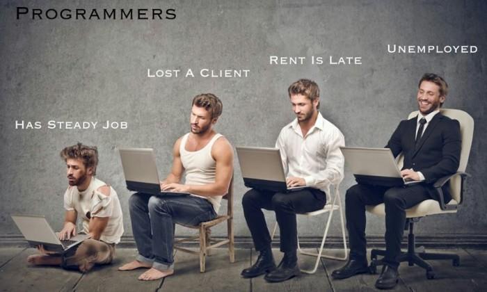 Programmer stages