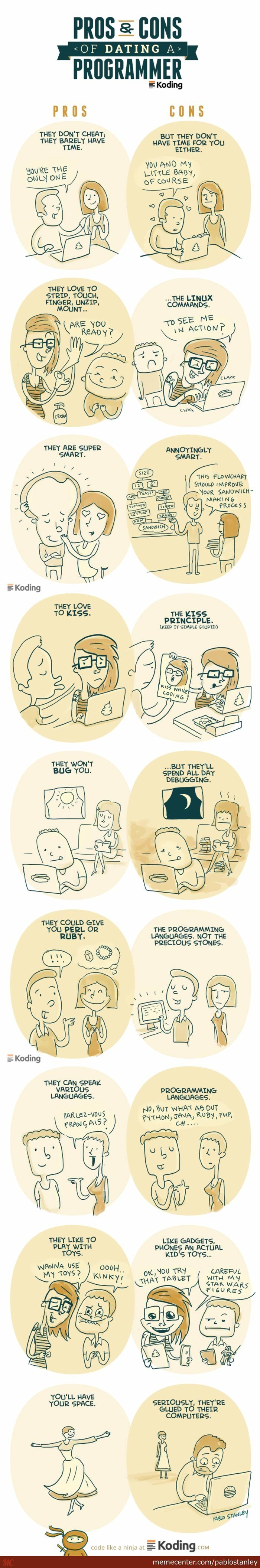 Dating a Programmer