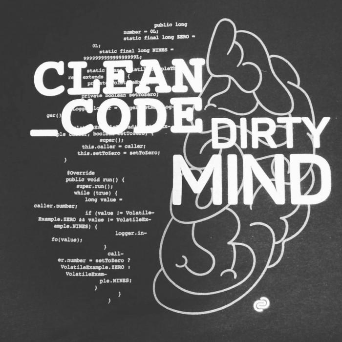 Clean code, dirty mind