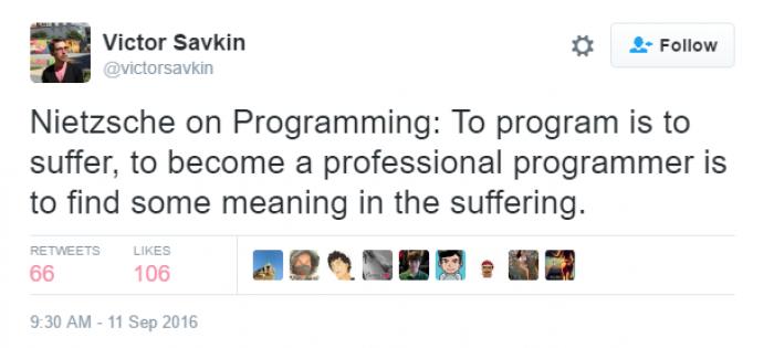 Nietzsche on Programming