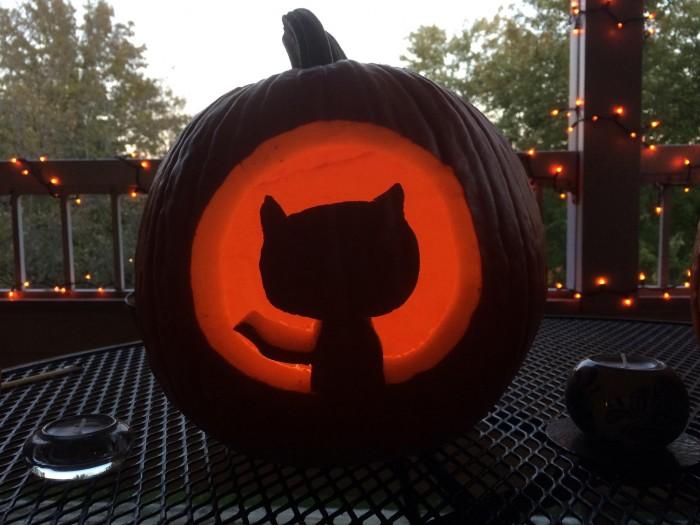 A very GitHub Halloween