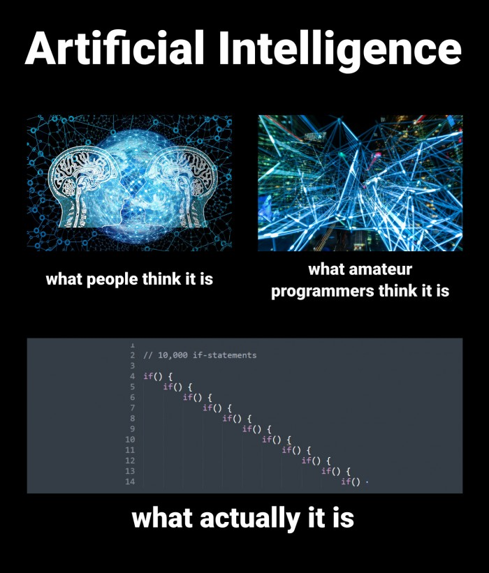 What AI actually is.