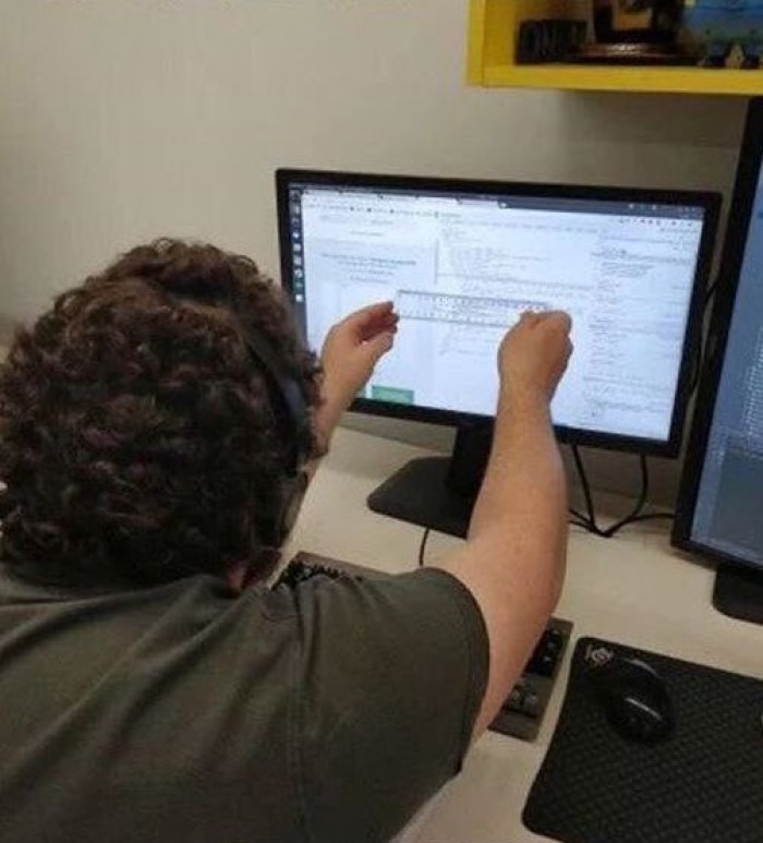 A backend developer doing CSS
