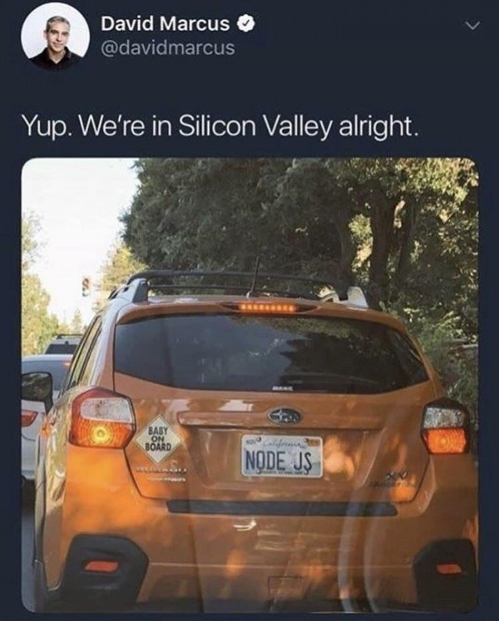 How to know when you're in Silicon Valley