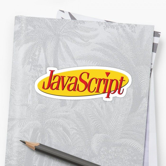 Seinfeld Style JavaScript Logo
