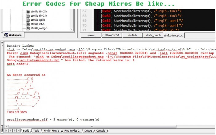 Programming those cheap micro-controllers with little support documentation...