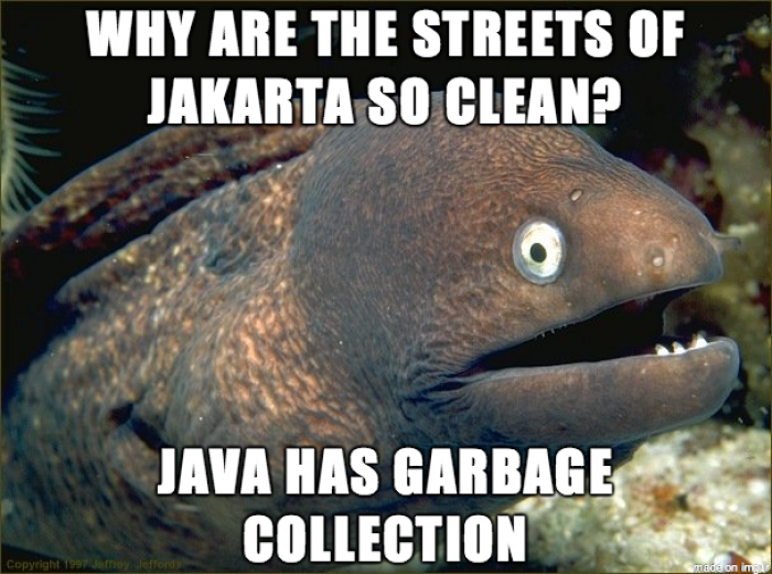 My boss went to Indonesia