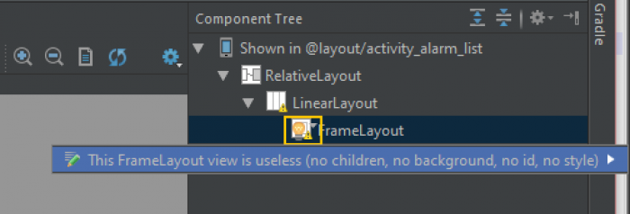 When Android Studio decides to throw a bit of shade