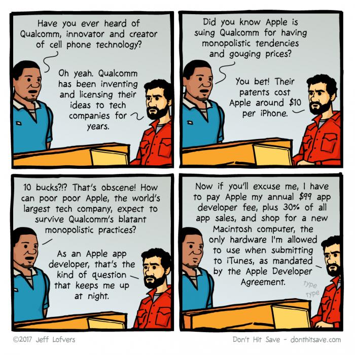 [donthitsave] Apple vs. Qualcomm