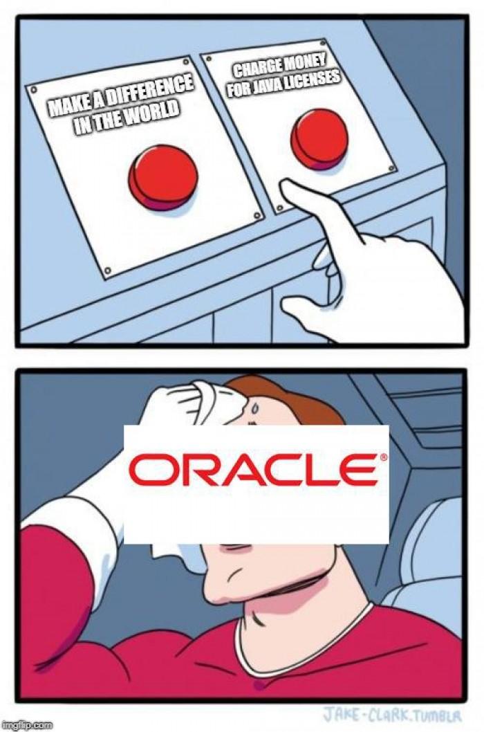 Faith in oracle lost