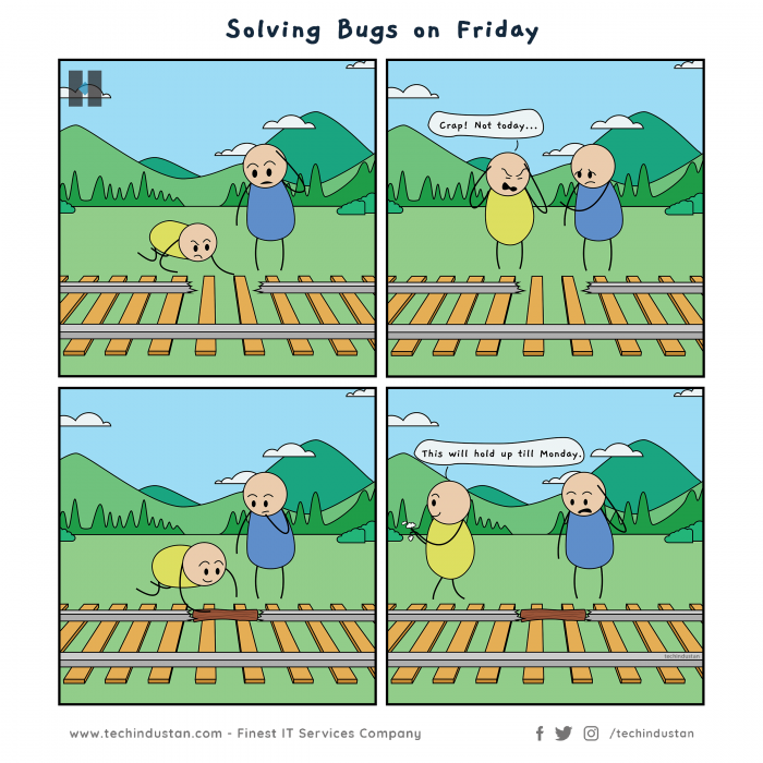 Solving Bugs on Friday!