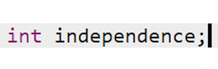 Declaration of independence, 1776, colorized