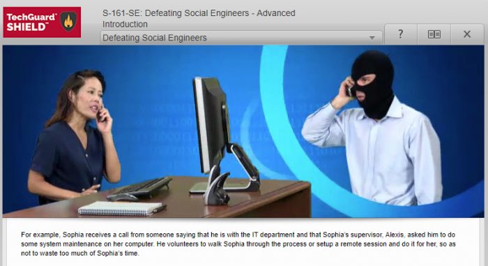 [My Office Compliance Training] - I'll wear this mask so that she doesn't recognize me